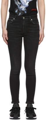 Heron Preston Black Stretch Skinny Jeans