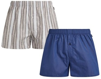 Hanro Fancy Woven Boxers (Pack of 2)