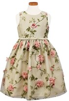 Sorbet Girl's Burnout Fit & Flare Dress