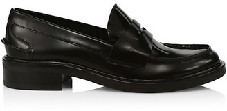 Rag & Bone Slayton Leather Penny Loafers