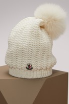 Moncler Wool hat with pompom