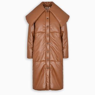 MATÉRIEL Eco-leather long jacket