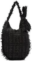Simone Rocha Black Tweed Tote
