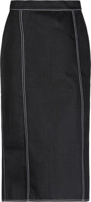 Alexander McQueen Denim skirts