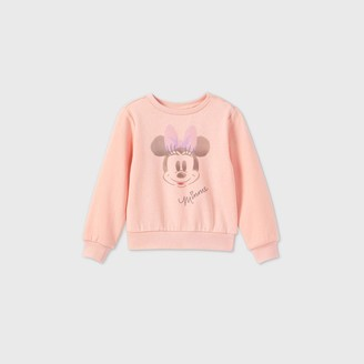 Disney Toddler Girls' Minnie Mouse Fleece Pullover -