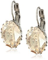 "Sorrelli Gold Vermeil"" Crown Jewel French Wire Drop Earrings"
