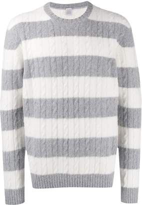Eleventy striped knit jumper