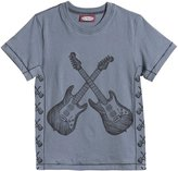City Threads Cross Guitars Graphic Tee (Toddler/Kid) - Concrete-5