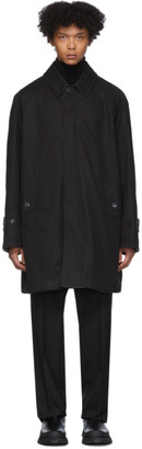 MACKINTOSH Reversible Black Haster Classic Coat