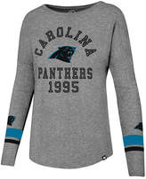 '47 Women's Carolina Panthers Encore Long Sleeve T-Shirt