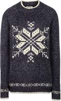 Fat Face Snowflake Placement Jumper