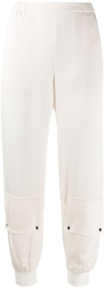 Dorothee Schumacher Glamorous Statement gathered-ankle trousers