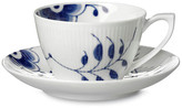 Royal Copenhagen Blue Mega Teacup & Saucer