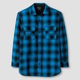 Burnside Boys' Long sleeve Button-Down Shirt - Blue