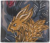 Burberry Beasts print wallet