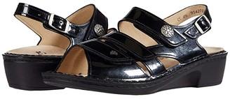 Finn Comfort Aversa (Navy/Patent) Women's Shoes