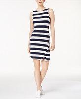 Kensie Striped Bodycon Dress