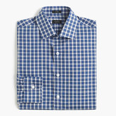 J.Crew Crosby shirt in blue tartan
