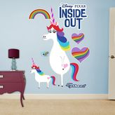 Disney Pixar Inside Out Rainbow Unicorn Wall Decal by Fathead