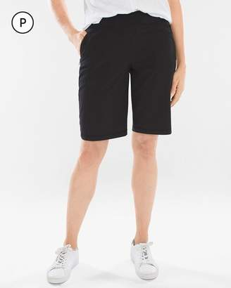 Zenergy Petite UPF Neema Knit-Waist Shorts
