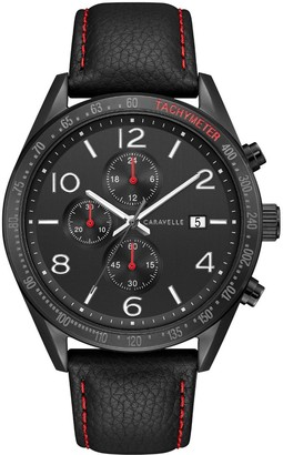 Caravelle by Bulova Men's IP Stainless Chronograph Watch
