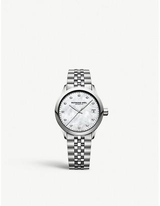 Raymond Weil 5634ST97081 Freelancer stainless steel and diamond watch