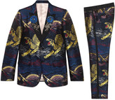 Gucci Heritage tiger jacquard tuxedo