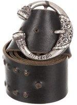Just Cavalli Leather Embellished Waist Belt