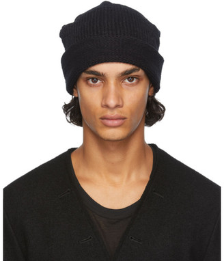 The Viridi-anne Black Daniel Andresen Edition Wool Beanie