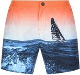 HUGO BOSS Blackfish Swim Shorts Blue