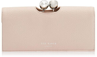 Ted Baker Leather Josiey Crystal Top Purse