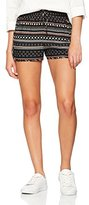 Tom Tailor Women's Printend Athletic Short,(Manufacturer Size: X-Small)