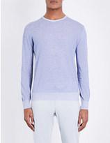 Lardini Crewneck cotton jumper