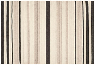 One Kings Lane Labis Dhurrie Rug - Natural - 6'x9'