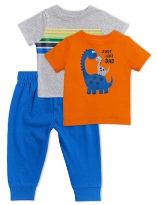 Garanimals Baby Boy T-Shirts and Joggers, 3pc Outfit Set