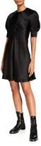 McQ Hisano Short-Sleeve Silk Dress