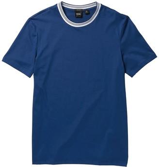 HUGO BOSS Tiburt Short Sleeve Regular Fit T-Shirt