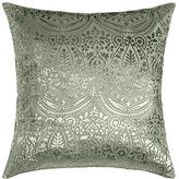 "Amity Home Grazia Burnout Velvet Pillow, 20""Sq."