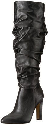 The Fix Amazon Brand Women's Kennedi Pointed-Toe To-The-Knee Slouch Boot
