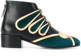 Paula Cademartori Heart ankle boots