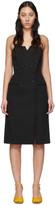 Givenchy Black Bustier Dress