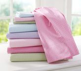 Pottery Barn Kids Gingham Sheet Set