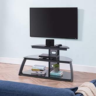 Southern Enterprises Moreland Contemporary Corner Gaming Stand media console