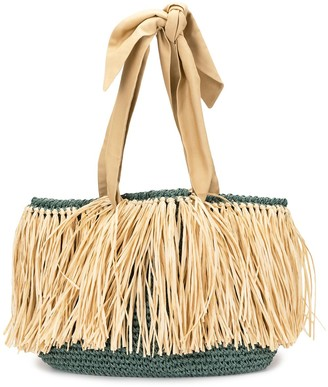 0711 Malibu straw bag