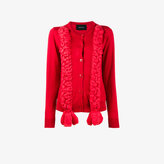 Simone Rocha silk braided cardigan