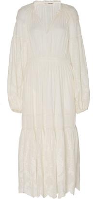Ulla Johnson Bettina Cotton Eyelet Dress