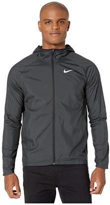 Nike Essential Jacket (Black/Reflective Silver) Men's Clothing