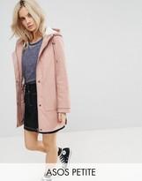Asos Premium Rain Coat with Fleece Lining