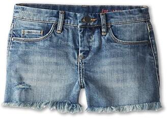 Blank NYC Kids Medium Denim Cut Off Shorts in Flavor Savor (Big Kids) (Flavor Savor) Girl's Shorts