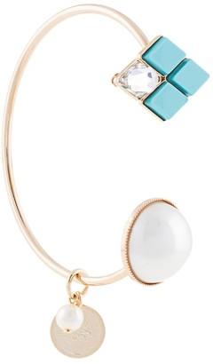 Anton Heunis Embellished Open Cuff Bracelet